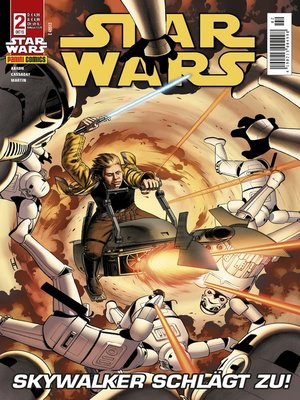 cover image of Star Wars Comicmagazin, Band 2--Skywalker schlägt zu