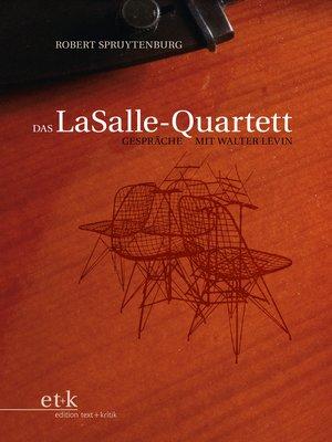 cover image of Das LaSalle-Quartett