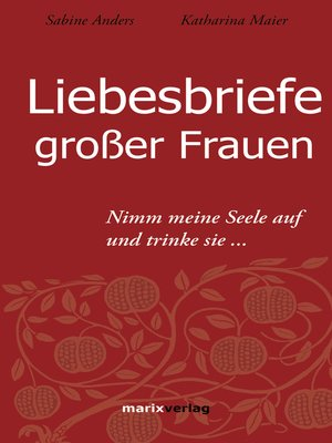 cover image of Liebesbriefe großer Frauen