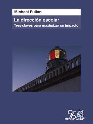 cover image of La dirección escolar