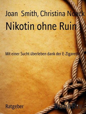 cover image of Nikotin ohne Ruin
