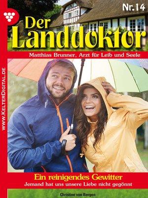 cover image of Der Landdoktor 14--Heimatroman