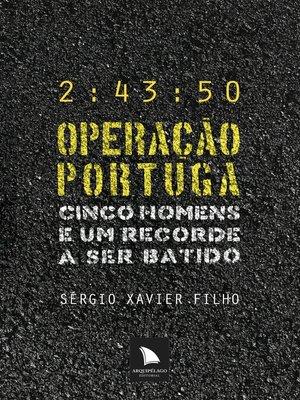 cover image of Operação Portuga