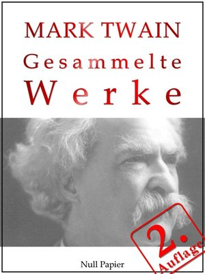 cover image of Mark Twain--Gesammelte Werke