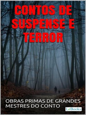 cover image of Contos de Suspense e Terror