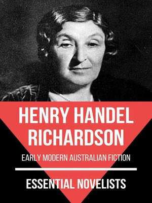 cover image of Essential Novelists--Henry Handel Richardson