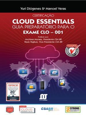 cover image of Livro Certificação Cloud Essentials