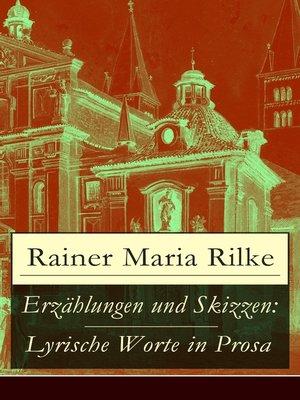 cover image of Erzählungen und Skizzen