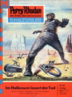 cover image of Perry Rhodan 69