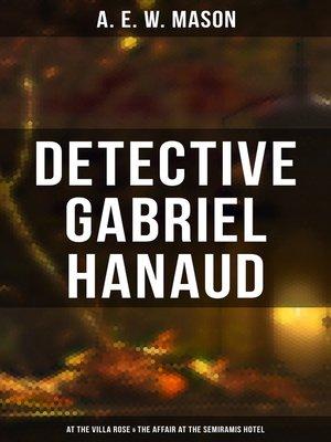cover image of Detective Gabriel Hanaud