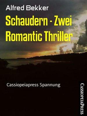 cover image of Schaudern--Zwei Romantic Thriller