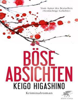cover image of Böse Absichten
