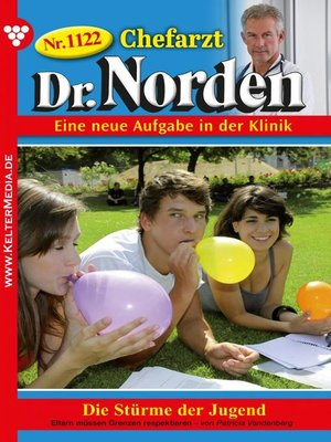 cover image of Chefarzt Dr. Norden 1122 – Arztroman