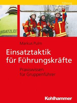 cover image of Einsatztaktik für Führungskräfte