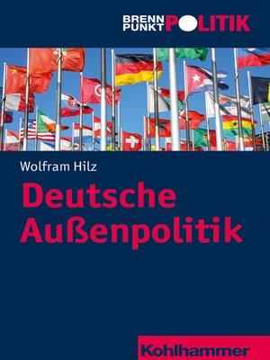 cover image of Deutsche Außenpolitik