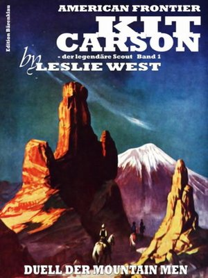 cover image of Duell der Mountain Men (Kit Carson 1)