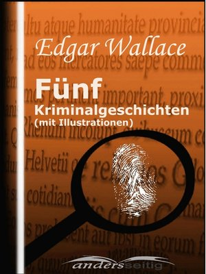 cover image of Fünf Kriminalgeschichten (mit Illustrationen)