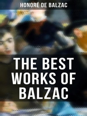 cover image of The Best Works of Balzac