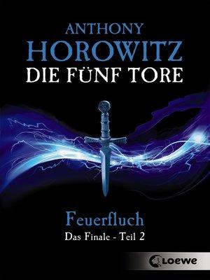 cover image of Die fünf Tore 5--Feuerfluch