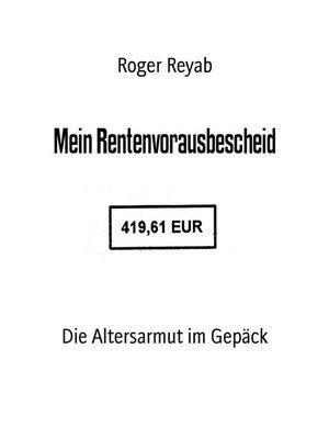 cover image of Mein Rentenvorausbescheid