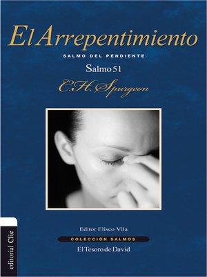 cover image of El arrepentimiento