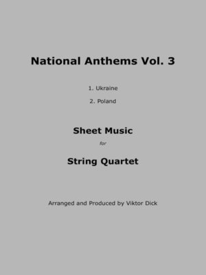 cover image of National Anthems Volume 3