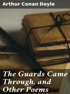 cover image of The Guards Came Through, and Other Poems