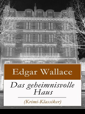 cover image of Das geheimnisvolle Haus (Krimi-Klassiker)