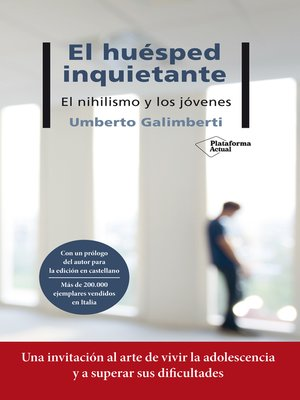 cover image of El huésped inquietante