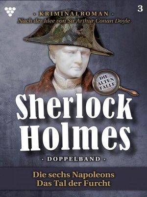 cover image of Sherlock Holmes Doppelband 3 – Kriminalroman
