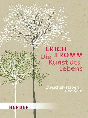 cover image of Die Kunst des Lebens