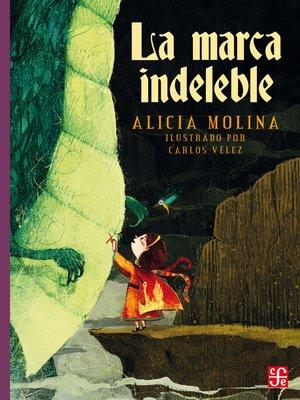 cover image of La marca indeleble