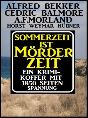 cover image of Sommerzeit ist Mörderzeit