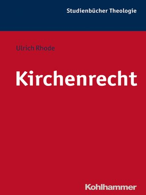 cover image of Kirchenrecht