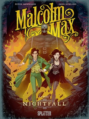 cover image of Malcolm Max. Band 3