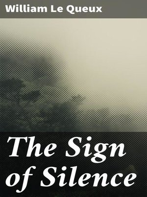 cover image of The Sign of Silence