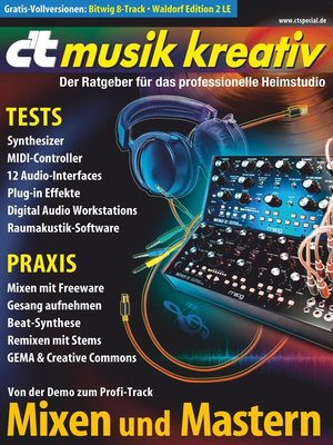 cover image of c't musik kreativ (2016)