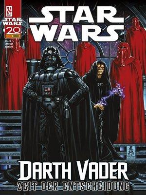 cover image of Star Wars, Comicmagazin 24--Darth Vader--Zeit der Entscheidung