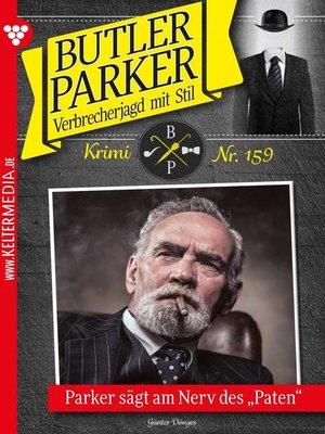 cover image of Butler Parker 159 – Kriminalroman