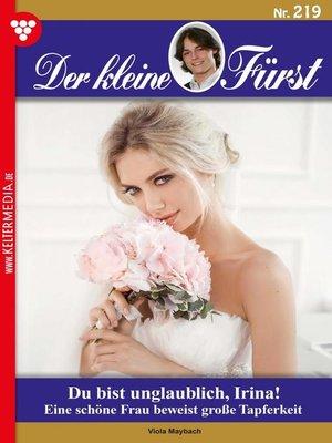 cover image of Der kleine Fürst 219 – Adelsroman
