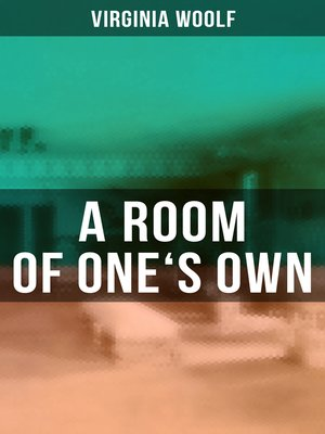 cover image of A ROOM OF ONE'S OWN