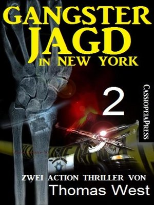 cover image of Gangsterjagd in New York 2--Zwei Action Thriller