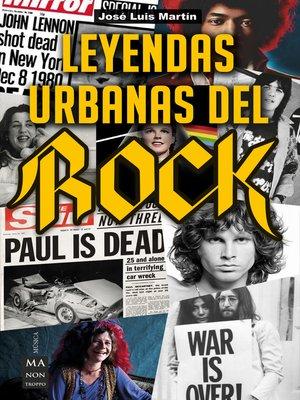 cover image of Leyendas urbanas del rock