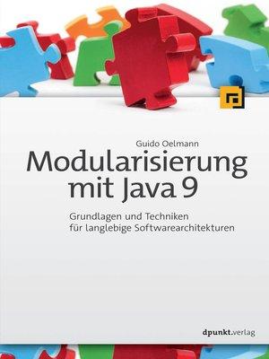cover image of Modularisierung mit Java 9