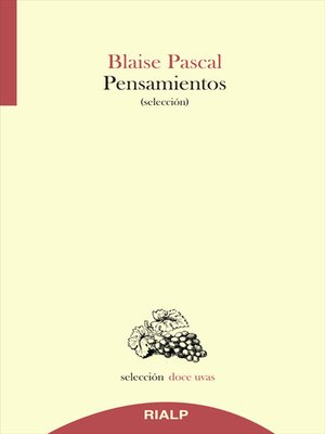 cover image of Pensamientos