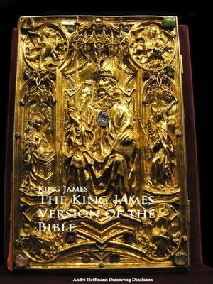 cover image of The King James Version of the Bible