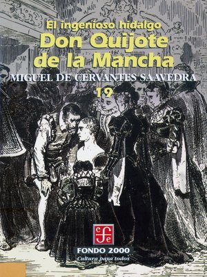 cover image of El ingenioso hidalgo don Quijote de la Mancha, 19