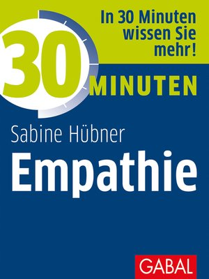 cover image of 30 Minuten Empathie