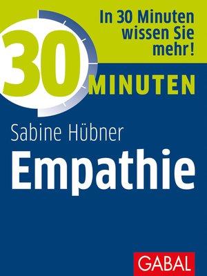cover image of 30 Minuten Empathie