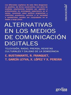 cover image of Alternativas en los medios de comunicación digitales